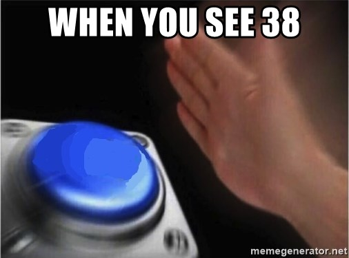 blank nut button - WHEN YOU SEE 38