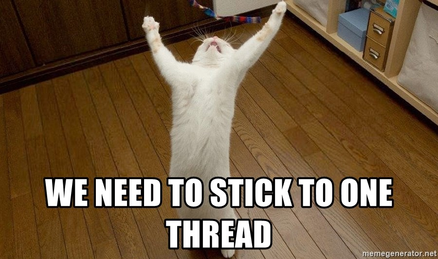 praise the lord cat -  WE NEED TO STICK TO ONE THREAD