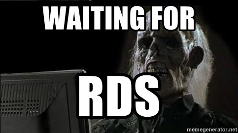 OP will surely deliver skeleton - waiting for rds