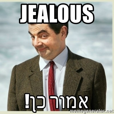 MR bean - jealous       אמור כן!