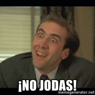 Nick Cage -  ¡No jodas!