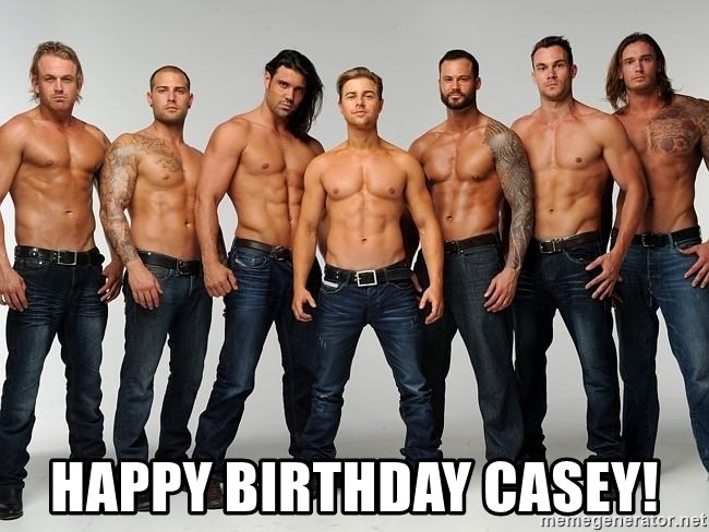 happy birthday casey