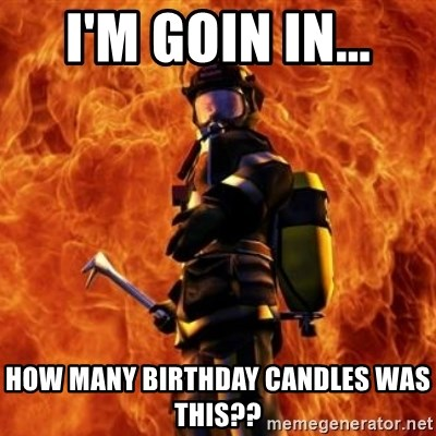 How Many Birthday Candles Was This