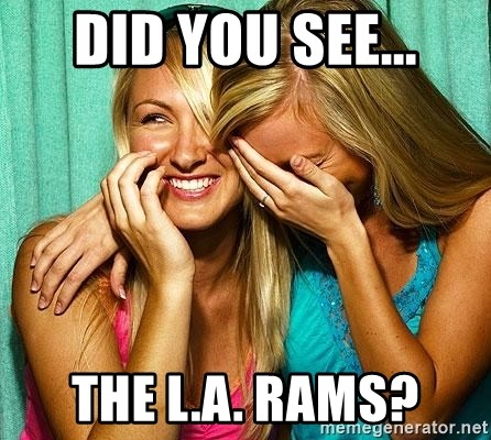 Laughing Whores - did you see... the l.a. rams?