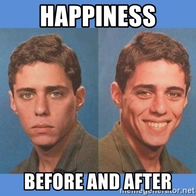 Chico Xavequeiro - happiness before and after