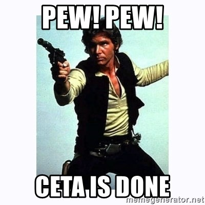 Han Solo - PEW! PEW! ceta is done