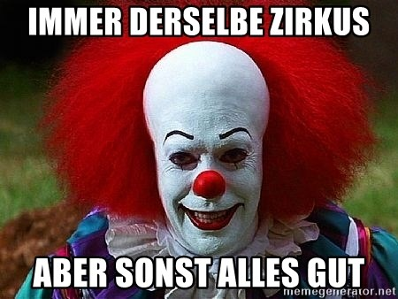 Pennywise the Clown - immer derselbe zirkus aber sonst alles gut
