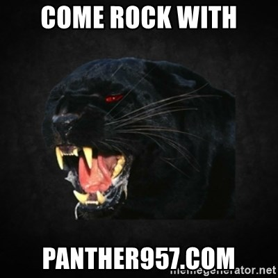 Roleplay Panther - Come Rock with Panther957.com