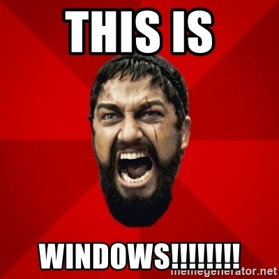 THIS IS SPARTAAA!!11!1 - This is windows!!!!!!!!