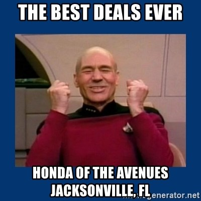 The Best Deals Ever Honda Of The Avenues Jacksonville