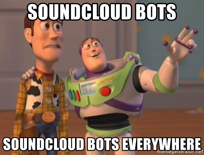 SOUNDCLOUD BOTS SOUNDCLOUD BOTS EVERYWHERE - Everywhere Toy