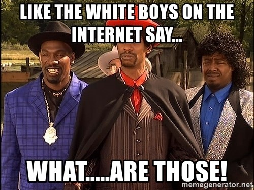 Dave Chappelle Player Haters - Like the white boys on the internet say... WHAT.....ARE THOSE!