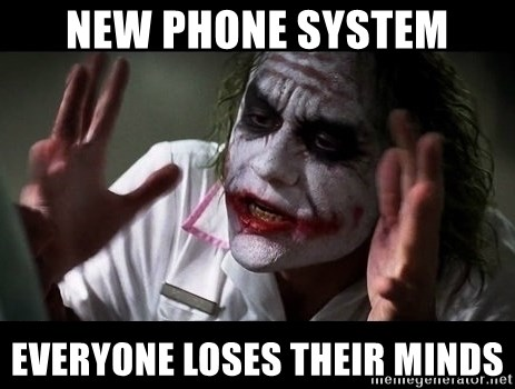 73412808 new phone system everyone loses their minds joker mind loss meme