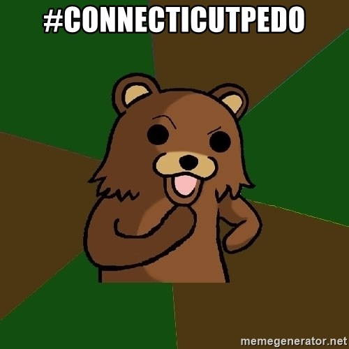 Pedobear - #connecticutpedo