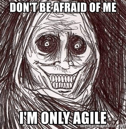 Boogeyman - Don't be afraid of me I'm only agile