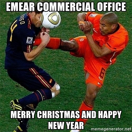 Netherlands - emear commercial office merry christmas and happy new year