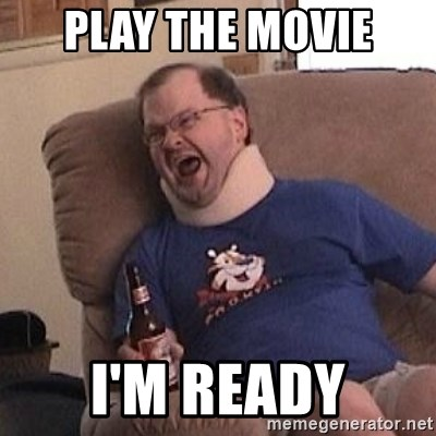 Fuming tourettes guy - PLAY THE MOVIE I'M READY