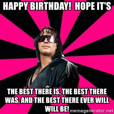 Have Bret Hart Screwed Have The Rolling Stones Killed Know