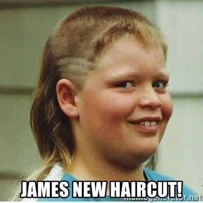 James New Haircut Haircut Boy Meme Generator