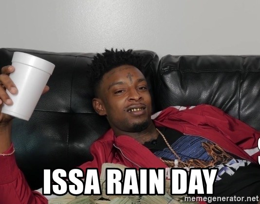 Issa Joke - Issa Rain Day