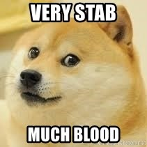 dogeee - very stab much blood