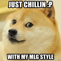 dogeee - just chillin :P with my mlg style