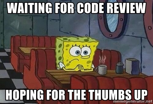 Coffee shop spongebob - WAITING FOR CODE REVIEW HOPING FOR THE THUMBS UP
