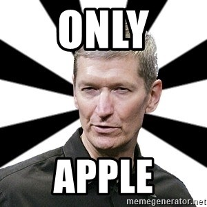 Tim Cook Time - Only Apple
