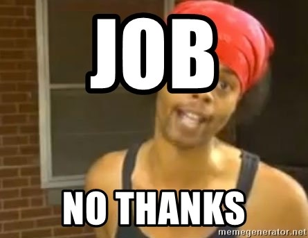 Antoine Dodson - job no thanks