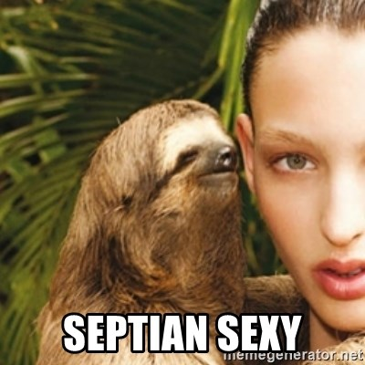 sexy sloth -  septian sexy