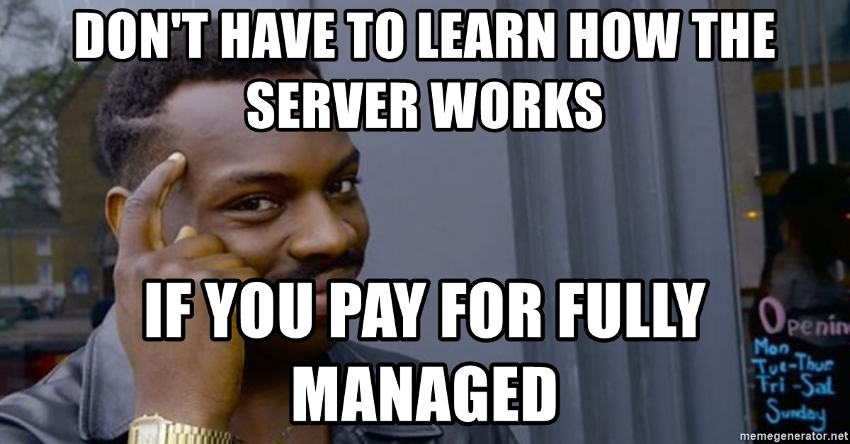 Profound Advice - don't have to learn how the server works if you pay for fully managed