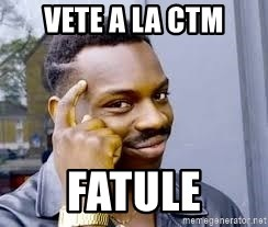 Black guy thinking  - Vete a la CTM Fatule