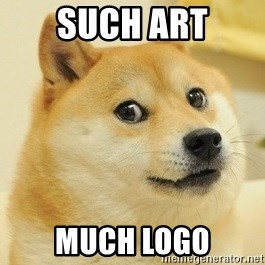 Dogeeeee - such art much logo