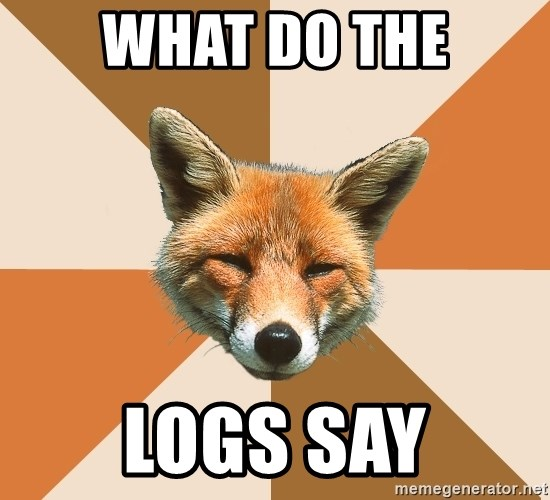 Condescending Fox - WHAT DO THE LOGS SAY