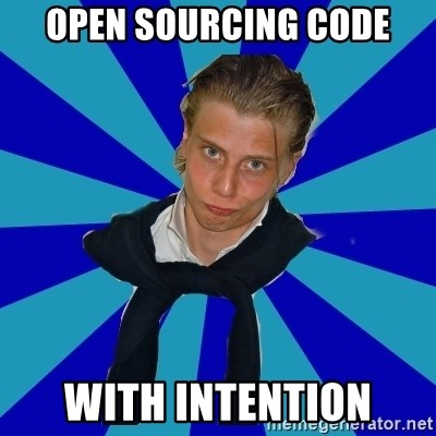 Typical Mufaren - Open Sourcing Code With Intention