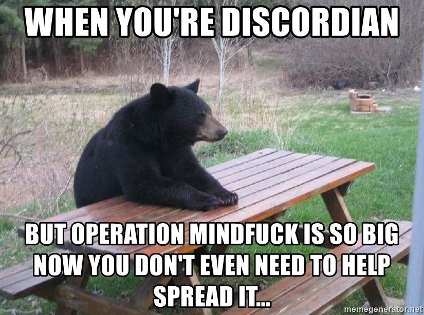 With Operation mind fuck agree, remarkable