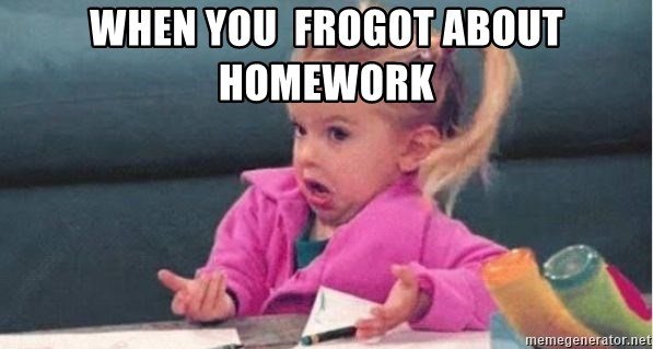 good luck charlie 09876543 - when you  frogot about homework