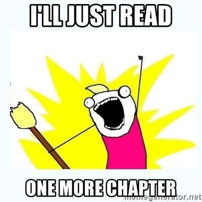 Image result for one more chapter meme