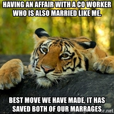 both married and having an affair