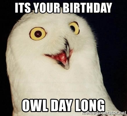 Orly Owl - ITS YOUR BIRTHDAY OWL DAY LONG
