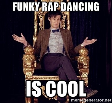Hipster Doctor Who - Funky rap dancing Is cool