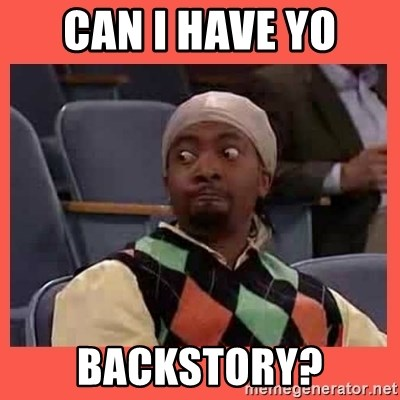 Can I have your number? - Can I have yo Backstory?
