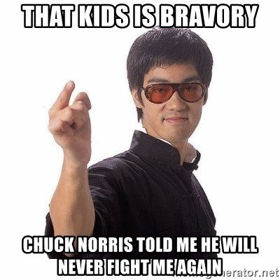 Bruce Lee - THAT KIDS IS BRAVORY CHUCK NORRIS TOLD ME HE WILL NEVER FIGHT ME AGAIN