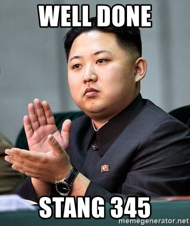 Kim Jong Un Clap - Well dOne Stang 345