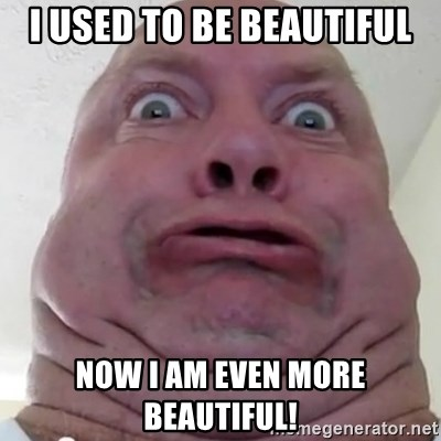 i am beautiful or ugly