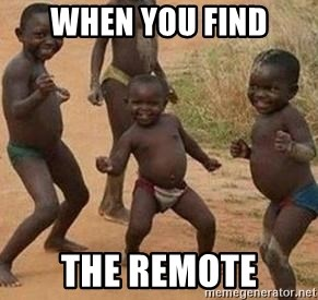 african children dancing - When you find the remote