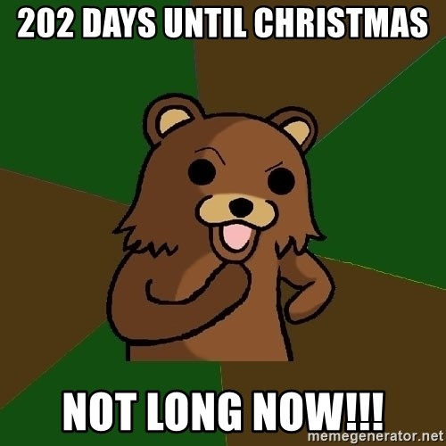 How Many Days Till Christmas 2019 Meme.Christmas All Year Community View Topic Countdown To