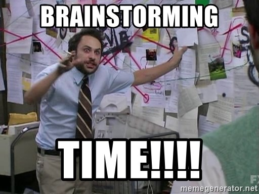 Charlie Day Conspiracy - brainstorming time!!!!