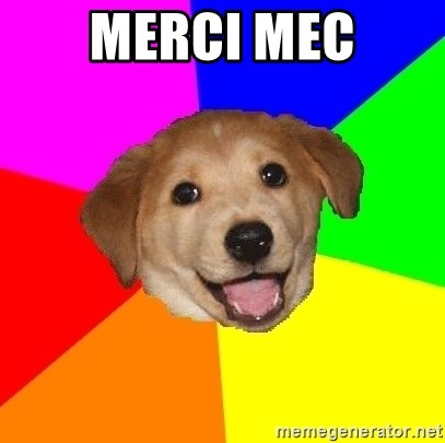 Advice Dog - MERCI MEC