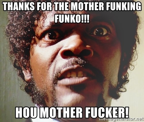Mad Samuel L Jackson Thanks For The Mother Funking Funko Hou Mother